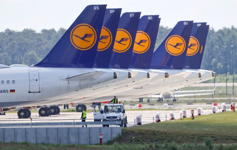 EU's Vestager denies making Lufthansa bailout more difficult