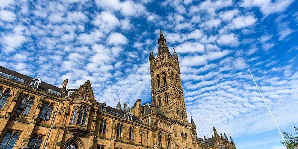 """<p>Go to school with the best wizards in the world. We're kidding, but the University of Glasgow does have a resemblance to <a href=""""http://www.goodhousekeeping.com/life/entertainment/a42610/harry-potter-plot-twists/"""" rel=""""nofollow noopener"""" target=""""_blank"""" data-ylk=""""slk:Hogwarts"""" class=""""link rapid-noclick-resp"""">Hogwarts</a>, no? Once a school primarily for the elite, this university became a pioneer in higher education in the 19th century to the growing middle class. </p>"""