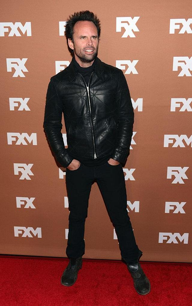 Walton Goggins attends the 2013 FX Upfront Bowling Event at Luxe at Lucky Strike Lanes on March 28, 2013 in New York City.