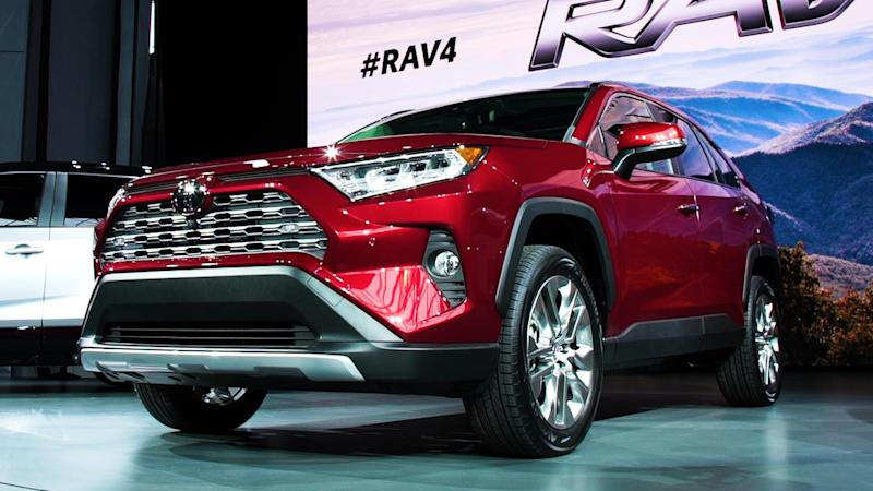 Redesigned 2019 Toyota RAV4 Touts Safety And Fuel Economy Enhancements