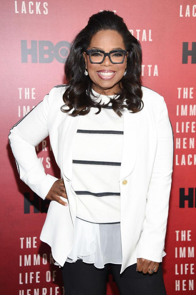 Winfrey is hands-down the embodiment of the humanitarian nature of aquarians. <em>(Image via Getty Images)</em>