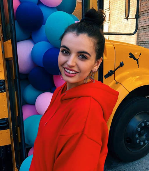 Rebecca Black is leaving the hate behind her, but she admits it took years. (Photo: Instagram)