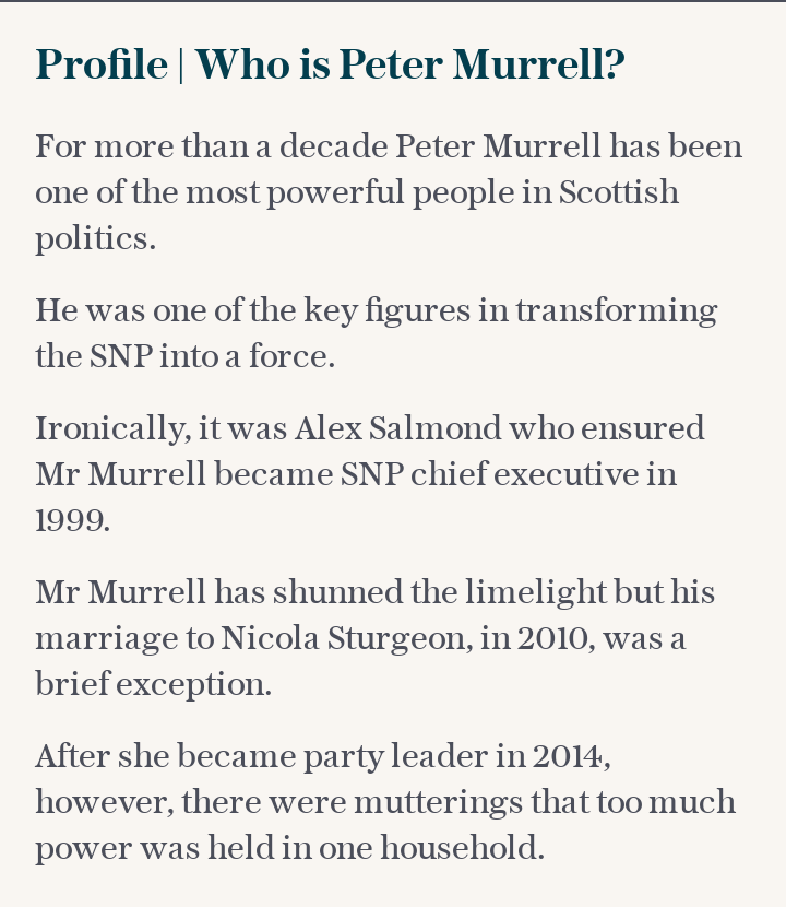 Profile - who is Peter Murrell?