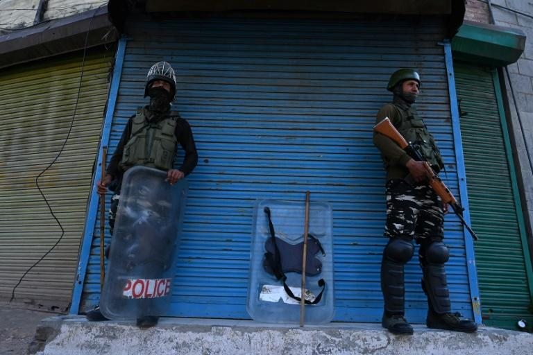 India imposed a military clampdown on Kashmir from August 5 to prevent unrest (AFP Photo/Tauseef MUSTAFA)
