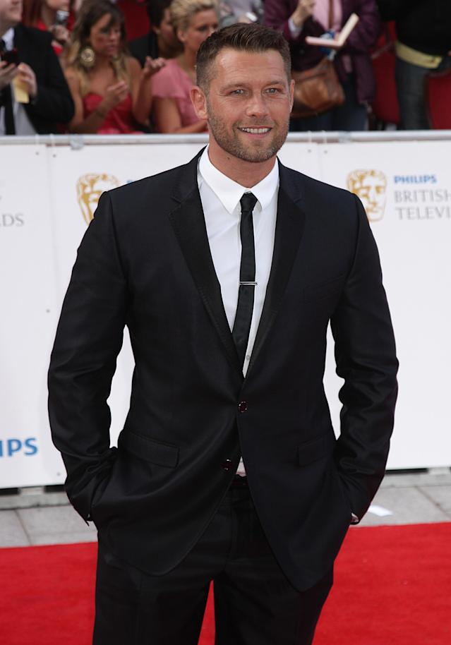 John Partridge arriving for the Philips British Academy Television Awards at the Grosvenor House, 90 Park Lane, London.