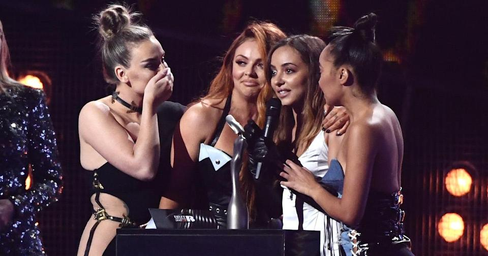 Perrie, Jesy, Jade and Leigh-Anne won Best British Single at the 2017 BRIT Awards (Copyright: David Fisher/REX/Shutterstock)