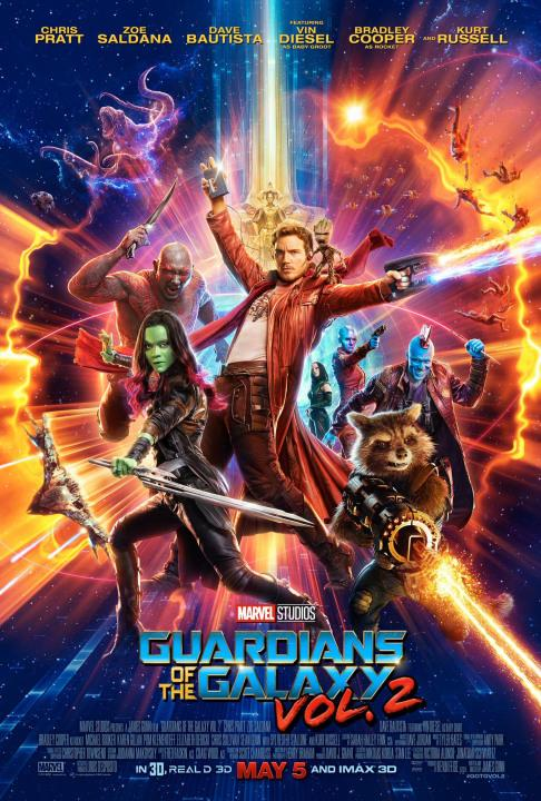 Peter Quill (Chris Pratt), Groot (Vin Diesel) and the gang are back! This time theyre trying to find Peters true lineage.