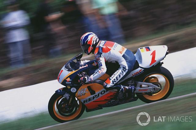 "1998. Mick Doohan <span class=""copyright"">Gold and Goose / Motorsport Images</span>"
