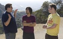 """<p>…to a supporting part in self-aware Sandler comedy 'Funny People'. Even quipping to Seth Rogen's aspiring comedian """"You shouldn't have lost all that weight… There's nothing funny about a physically fit man.""""<br></p>"""