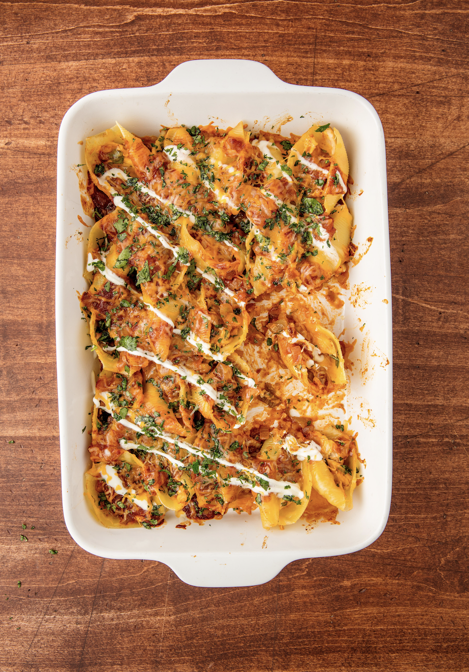 """<p>Stuff your favorite Mexican dish into jumbo shells and we promise you won't regret it.</p><p>Get the recipe from <a href=""""https://www.delish.com/cooking/recipe-ideas/recipes/a55259/enchilada-stuffed-shells-recipe/"""" rel=""""nofollow noopener"""" target=""""_blank"""" data-ylk=""""slk:Delish"""" class=""""link rapid-noclick-resp"""">Delish</a>.</p>"""