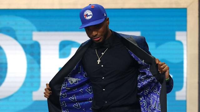 A dramatic NBA Draft twist saw Mikal Bridges' hopes of playing for his hometown Philadelphia 76ers dashed.