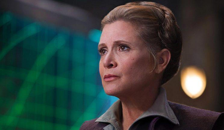 General Leia in Star Wars: The Force Awakens - Credit: Lucasfilm