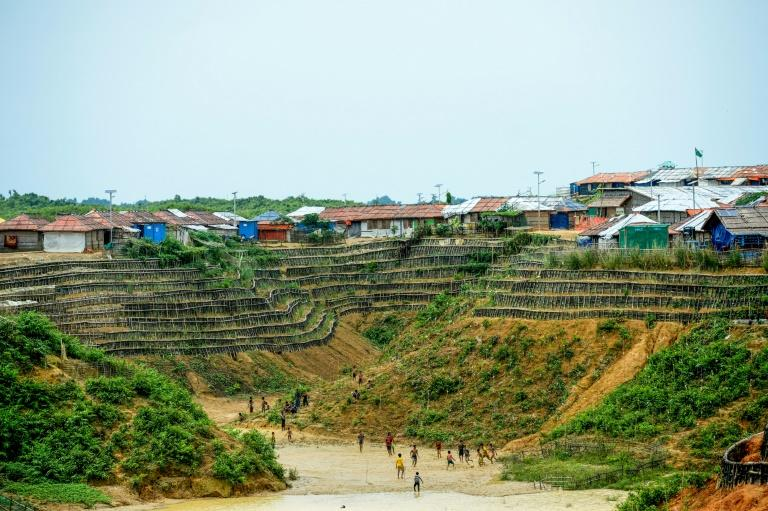 Refugee settlements in Bangladesh are home to nearly a million Rohingya