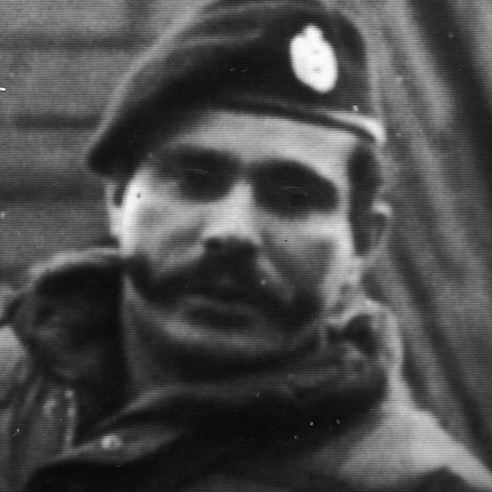 St Sgt Malcom Banks was shot dead in Belfast two minutes before a Provisional IRA ceasefire came into effect