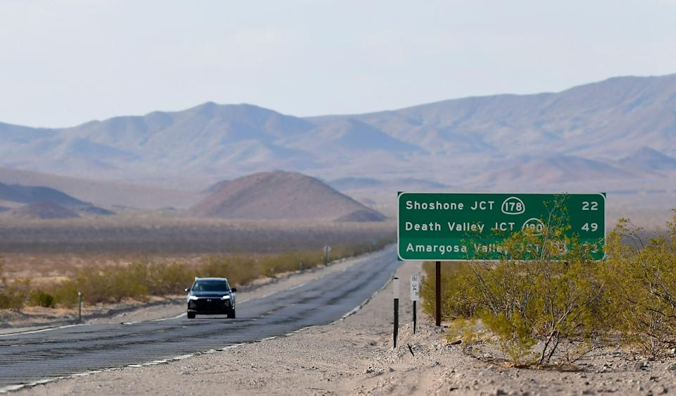Death Valley experiences record heats  (AFP via Getty Images)