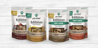 Pet Releaf upgraded CBD-Infused Edibites to target specific ailments.