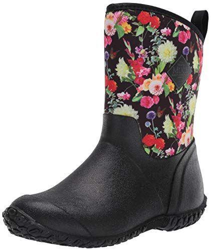 """<p><strong>Muck Boot</strong></p><p>amazon.com</p><p><strong>$103.16</strong></p><p><a href=""""https://www.amazon.com/dp/B083VR874L?tag=syn-yahoo-20&ascsubtag=%5Bartid%7C2164.g.34010656%5Bsrc%7Cyahoo-us"""" rel=""""nofollow noopener"""" target=""""_blank"""" data-ylk=""""slk:Shop Now"""" class=""""link rapid-noclick-resp"""">Shop Now</a></p><p>There's just so much to love about these boots (those<em> flowers!</em>). You can even roll the top part of the boot down to ankle height for added breathability. </p>"""