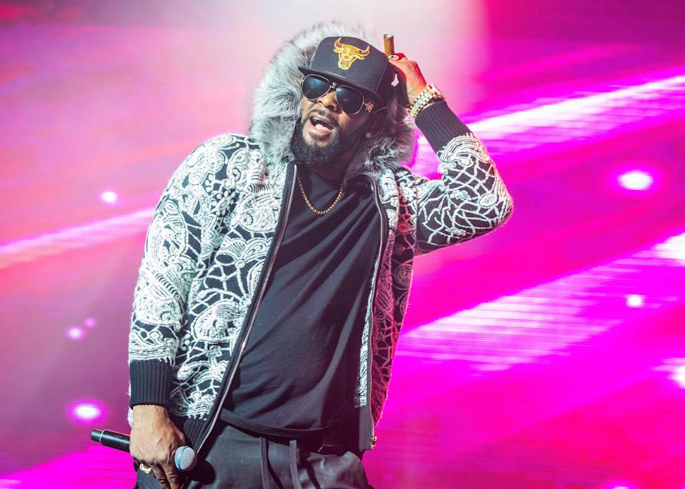 R. Kelly performs at Little Caesars Arena on Feb. 21, 2018, in Detroit, Mich. (Photo: Scott Legato/Getty Images)