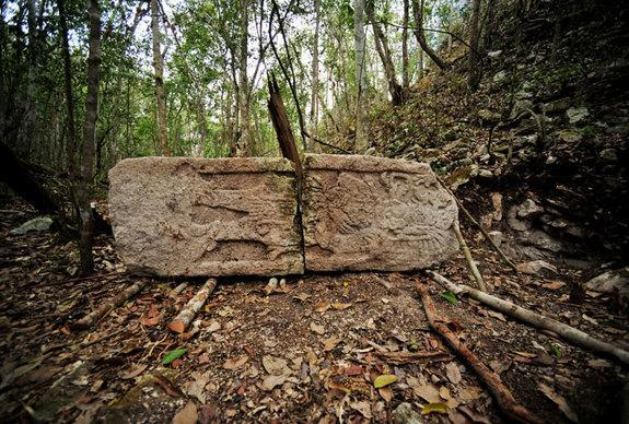 This image is from the southeast complex at the newfound Maya city called Chactún.