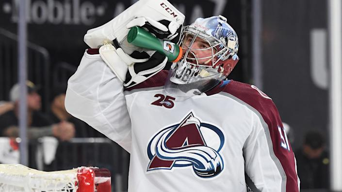 The Seattle Kraken made a big splash in their first foray into free agency, signing Philipp Grubauer to a six-year deal. (Photo by David Becker/NHLI via Getty Images)