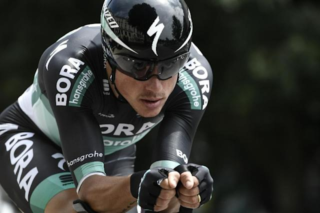Peter Kennaugh spent seven years at Team Sky before moving to Bora-Hansgrohe in 2018 (AFP Photo/Philippe LOPEZ)
