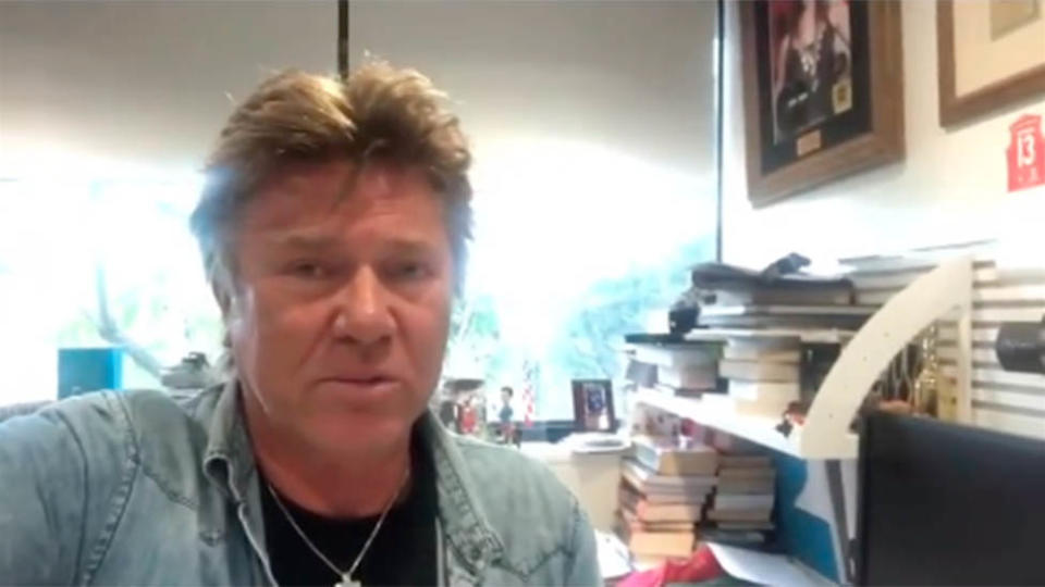 Richard Wilkins in Instagram story video confirming TV and radio return after COVID-19 experience