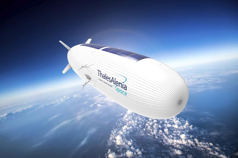 French military taps Thales to study ISR sensor options for 'Stratobus' airship