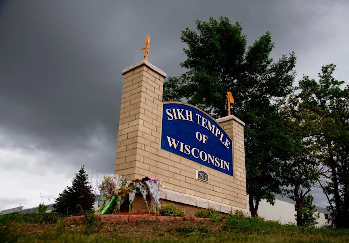 On August 5, 2012, white supremacist Wade Michael Page opened fire on a Sikhs gathered at a temple in Oak Creek, Wis., killing six and wounding four more before turning the gun on himself.