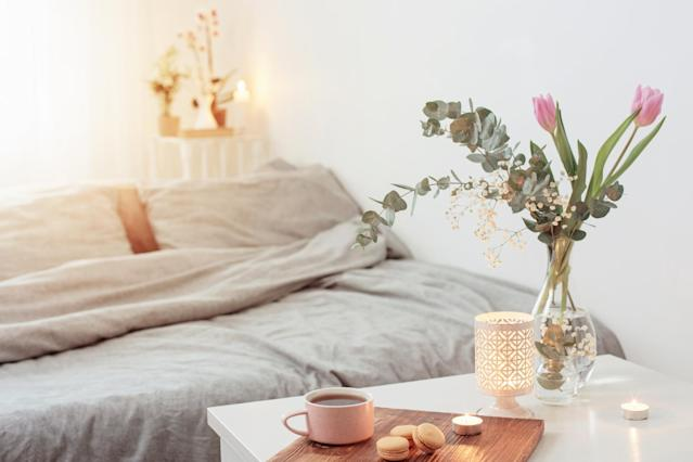 Prep your bedroom for the perfect night's sleep. (Getty Images)