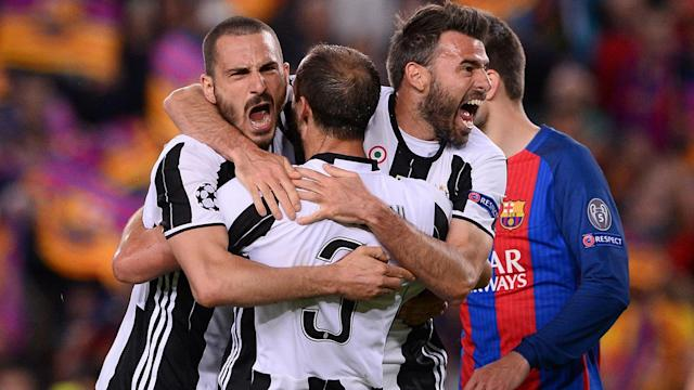 Massimiliano Allegri has brought the Italian defender into his line-up for the Champions League semi-final first leg