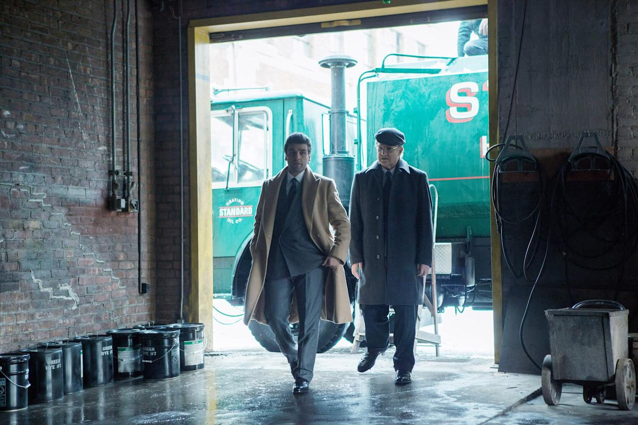 """<p>We've got a star-studded cast for you with <strong>A Most Violent Year</strong> thanks to Oscar Isaac, Jessica Chastain, David Oyelowo, Albert Brooks, and Alessandro Nivola. It's a stark look at New York City in 1981, which was (you guessed it) one of the most violent years in the city's history.</p> <p><a href=""""http://www.netflix.com/title/80017021"""" target=""""_blank"""" class=""""ga-track"""" data-ga-category=""""Related"""" data-ga-label=""""http://www.netflix.com/title/80017021"""" data-ga-action=""""In-Line Links"""">Watch <strong>A Most Violent Year</strong> on Netflix now</a>.</p>"""