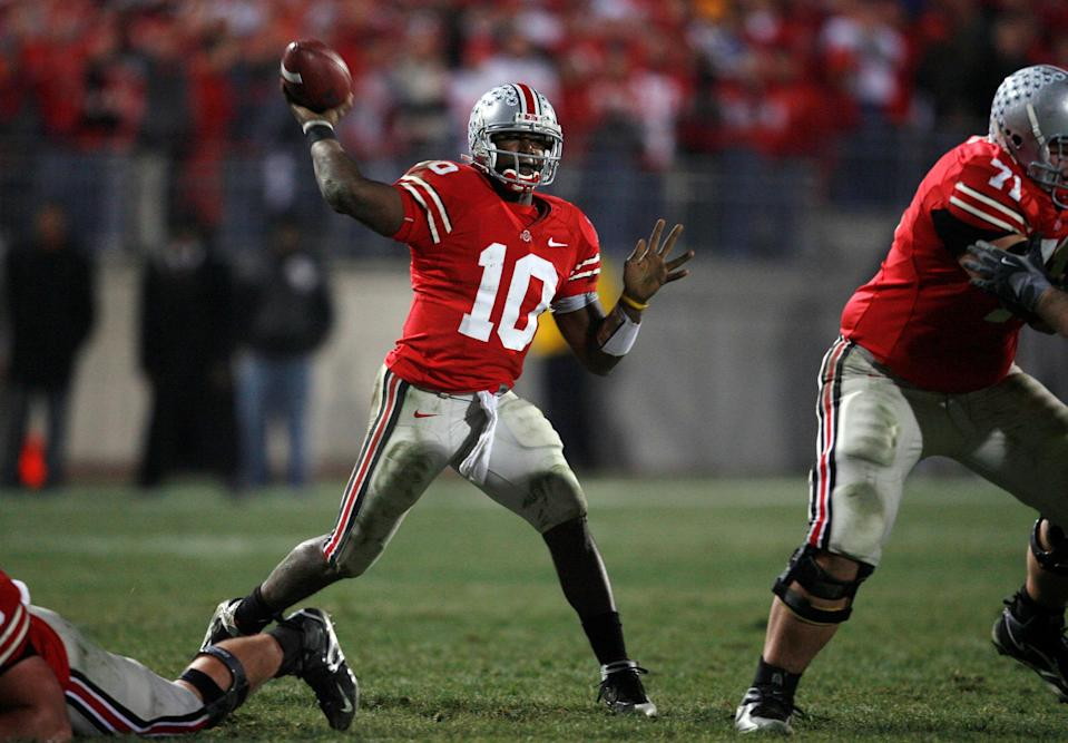Where are Ohio State QBs in ESPN's ranking of the top 60 of the 2000s?