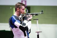 """<p>Biography: 20 years old</p> <p>Event: Men's 10m air rifle (shooting)</p> <p>Quote: """"It feels amazing. I'm only 20, but I've been doing this since I was 8. I've been doing this a long time, so I've been able to get a good score and progress. To finally achieve what I came here to do is amazing.""""</p>"""