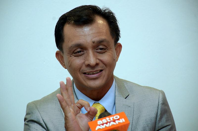 Ahmad Idham's tenure as Finas CEO started on March 14 this year. — Bernama pic