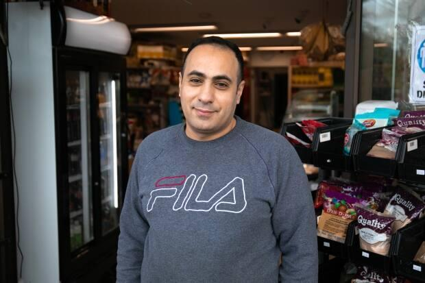 Mohamed Salem Ajaj opened the Damascus Food Market in Victoria in 2018 with his Marwa Ataya.