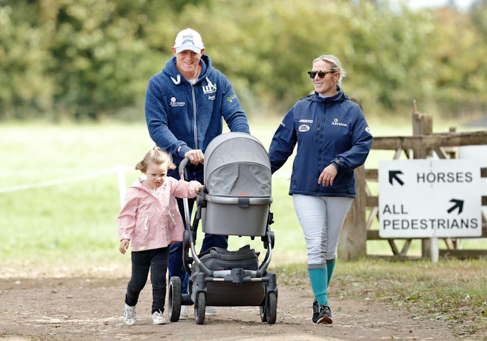 The couple already have two daughters and Tindall has admitted to wanting a boy this time round, pictured in September 2018. (Getty Images)