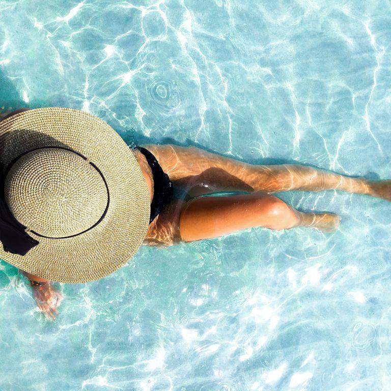<p>Nope, there's no such thing as a healthy tan. Time in the sun without sunblock should be reserved for super-short stints. If you're deficient in vitamin D, your doctor would be the one to let you know. In those cases, it's still not an excuse to ditch the SPF—a supplement might help instead.</p>
