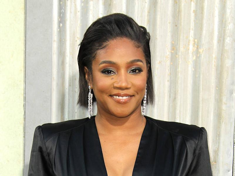 Tiffany Haddish stays fit by walking up stairs
