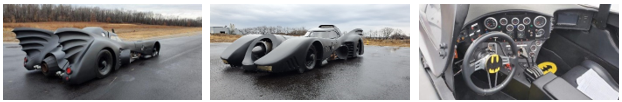 The Batmobile from Batman (Credit: US Marshals Service)