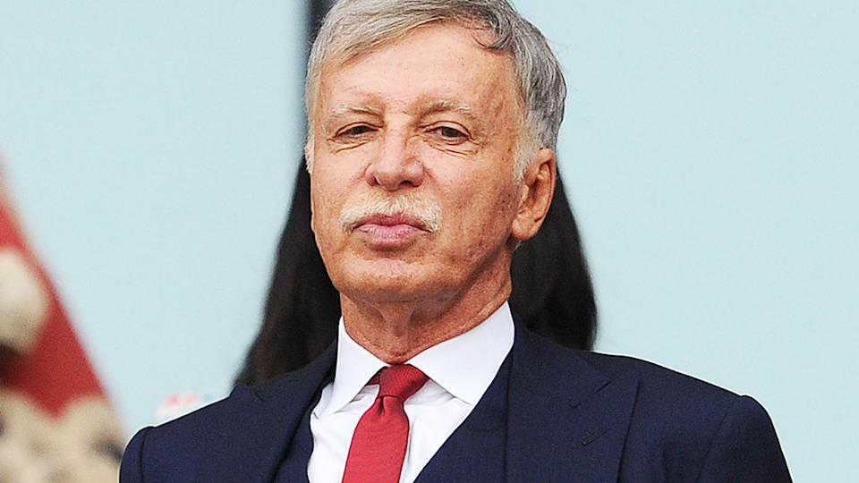 Stan Kroenke, pictured here at an Arsenal game in the Premier League.