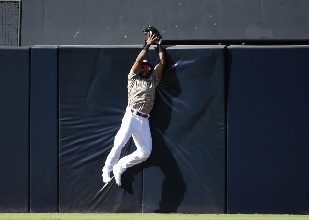 Manuel Margot is a proven plus centre-fielder. (Denis Poroy/Getty Images)