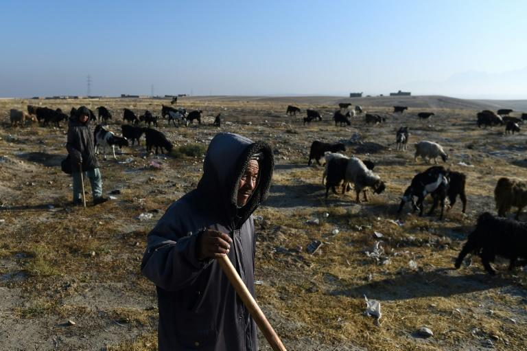 Afghanistan one of the countries most vulnerable to climate change, even though it produces just 0.1 percent of the world's greenhouse gas emissions (AFP Photo/FARSHAD USYAN)