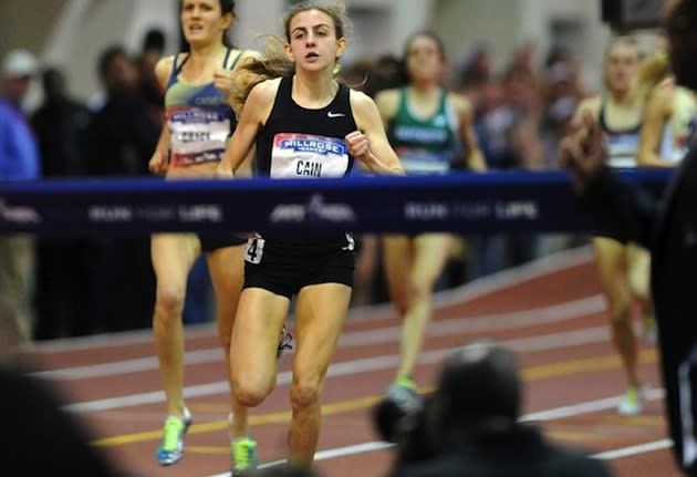 Mary Cain finishes the Wannamaker Mile in second place — New York Daily News