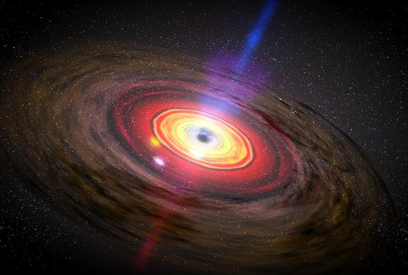 Monster Black Holes Grow Surprisingly Fast
