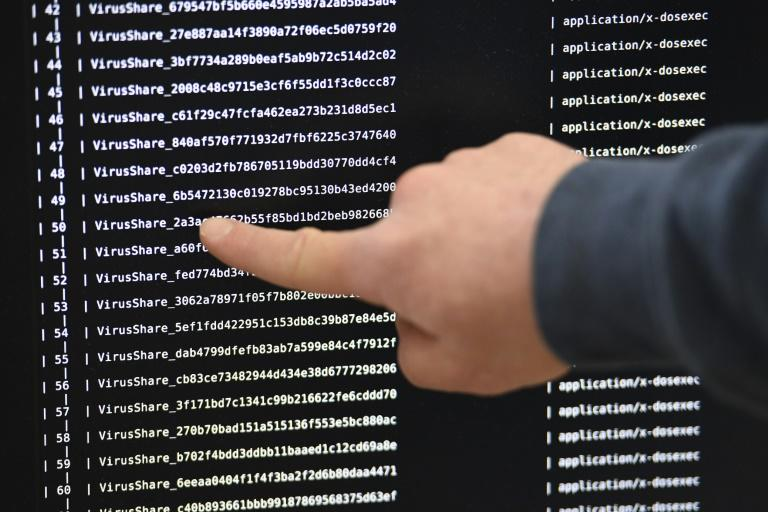 Ransomware is one potential way for Iran to retaliate against the United States for the killing of a top Iranian leader, according to security analysts (AFP Photo/DAMIEN MEYER)