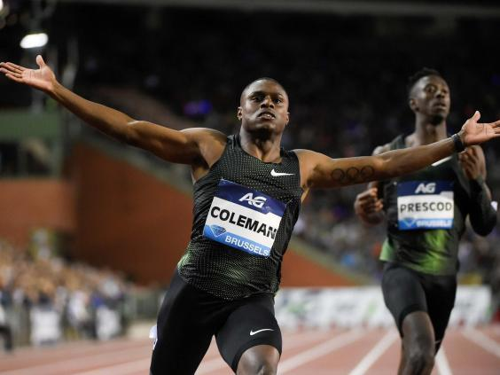 Coleman's world championship and Olympic participation is in doubt (AFP/Getty)