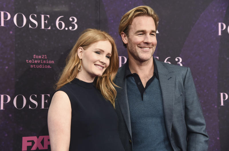 James Van Der Beek shared some personal family news about wife Kimberly's pregnancy. (Photo: Daniel Zuchnik/WireImage)
