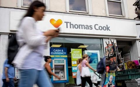 Thomas Cook - Credit: TOLGA AKMEN/AFP