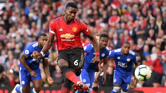 Paul Pogba netted from the spot in United's opening day victory