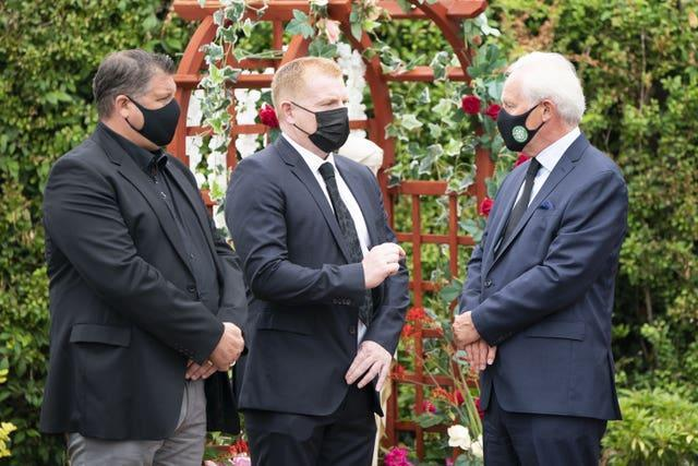 Charlie Gallagher funeral